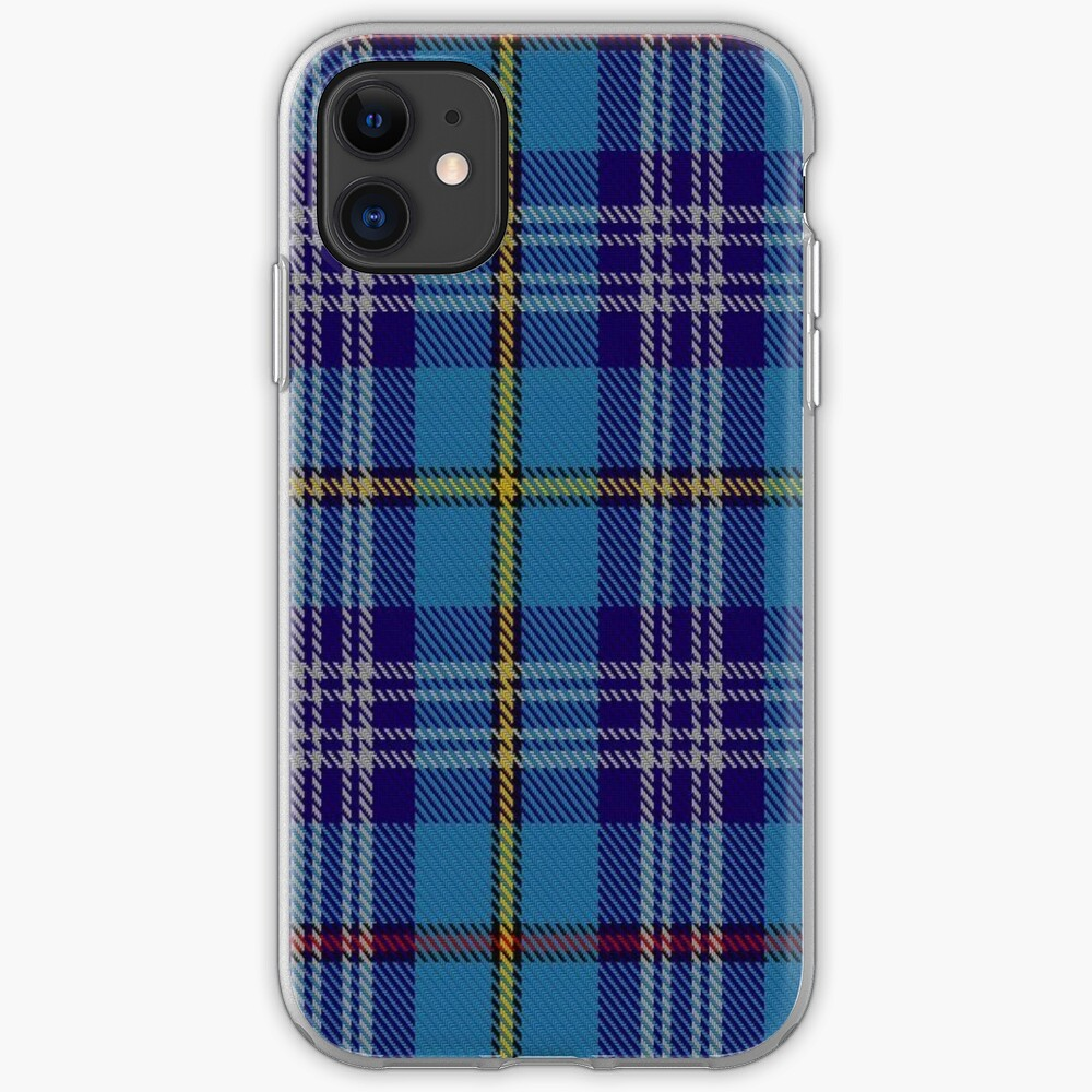 00570 Citadel Military Academy Tartan  iPhone Case & Cover