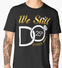 25th Wedding Anniversary Men's Premium T-Shirt