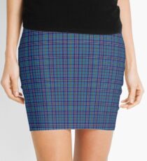 00570 Citadel Military Academy Tartan  Mini Skirt