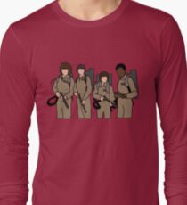 stranger things ghostbusters Long Sleeve T-Shirt