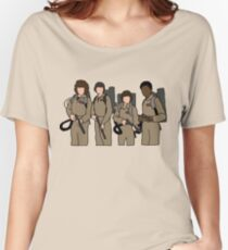 stranger things ghostbusters Women's Relaxed Fit T-Shirt