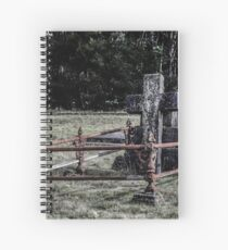 Pioneer Gravesite in The Tarkine. Waratah Tasmania  Spiral Notebook