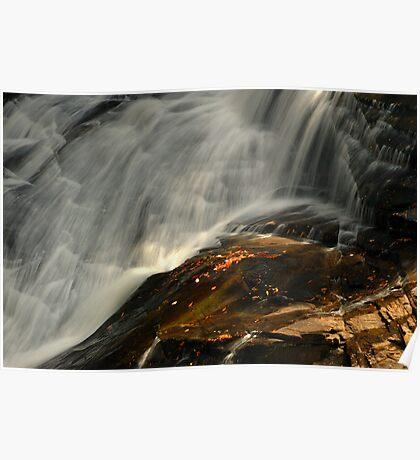 High Falls, Dupont State Park, North Carolina Poster