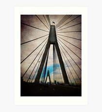 iPhoneography: ANZAC Bridge Art Print