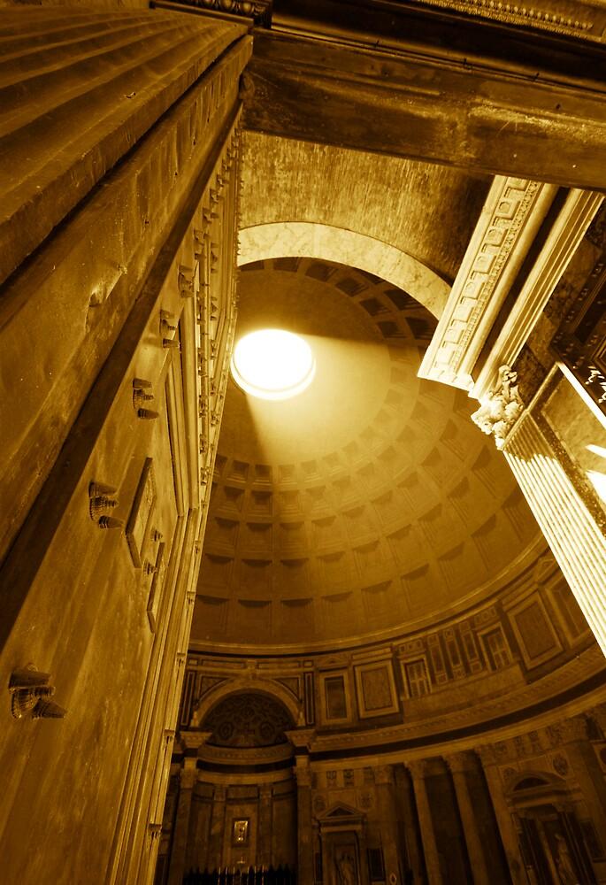 Pantheon Sepia by LeeMartinImages