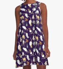 Rats A-Line Dress
