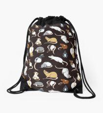 Rats Drawstring Bag