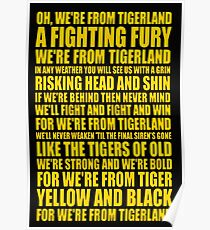 richmond tigers Poster