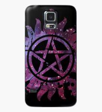 Supernatural Anti-Possession Galaxy Print Case/Skin for Samsung Galaxy