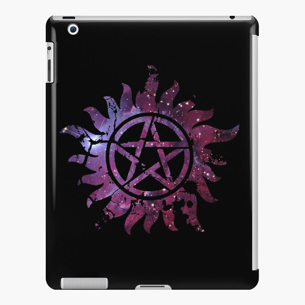 Supernatural Anti-Possession Galaxy Print iPad Case & Skin
