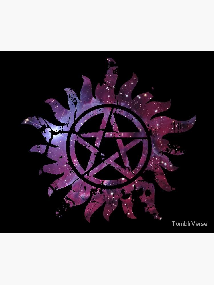 Supernatural Anti-Possession Galaxy Print by TumblrVerse