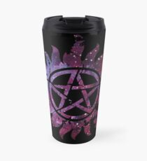 Supernatural Anti-Possession Galaxy Print Travel Mug