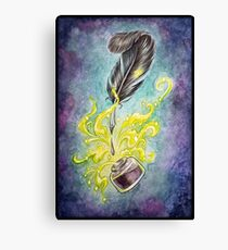 Quill & Well Canvas Print