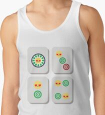 Mahjong Emoji   Men's Tank Top