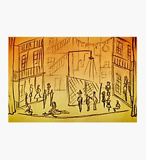 West Side Story Sketches Photographic Print