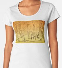 West Side Story Sketches Women's Premium T-Shirt