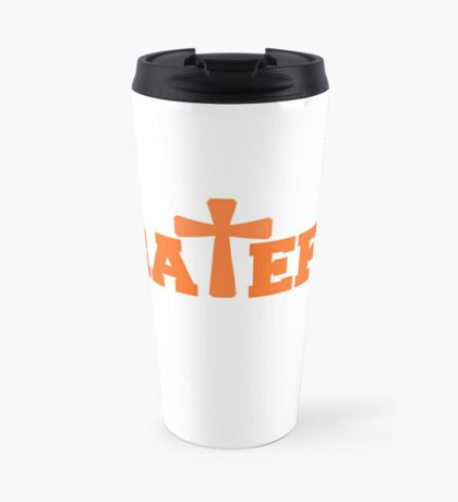 Grateful - Orange Travel Mug