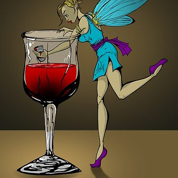 Wine Faerie by TheHaloEquation