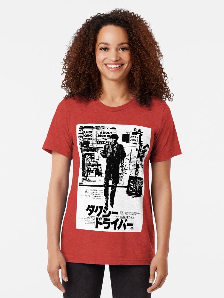 Alternative Ansicht von Taxifahrer Vintage T-Shirt