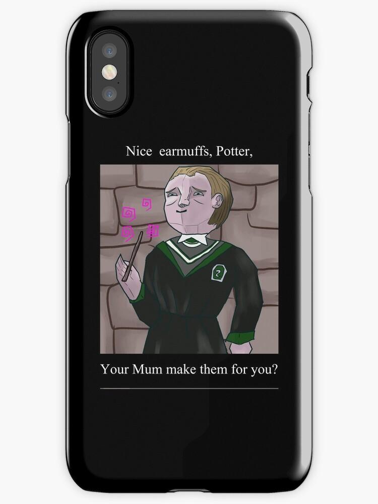 Nice Earmuffs Potter PS1 era by KloudKat