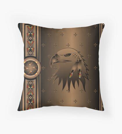 Eagle Nation Throw Pillow