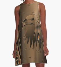 Eagle Nation A-Line Dress