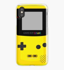 Gameboy Color (Yellow) Phone Case iPhone Case/Skin
