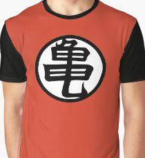 Kame Senin Kanji Graphic T-Shirt