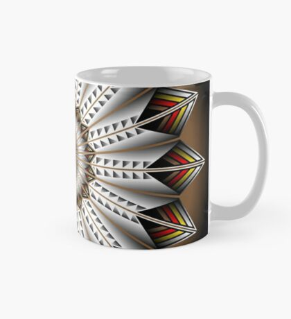Native Feather Design Mug