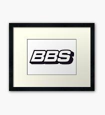 BBS Merchandise Framed Print