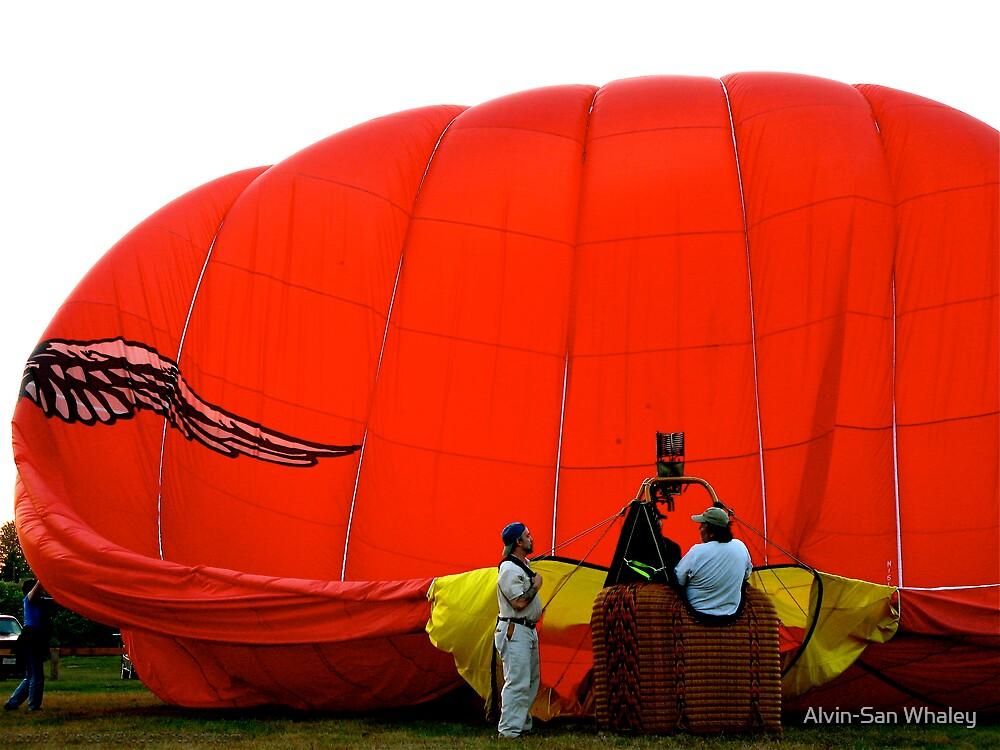 Balloon Down by Alvin-San Whaley