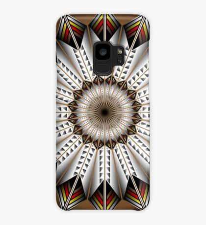 Native Feather Design Case/Skin for Samsung Galaxy