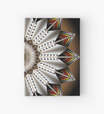 Native Feather Design Hardcover Journal