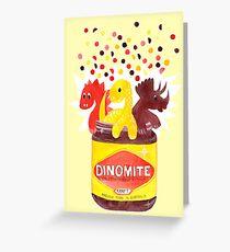 Dino-Mite Vegemite Greeting Card