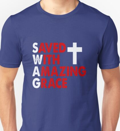 Saved with Amazing Grace T-Shirt