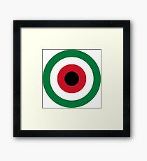 Roundel of Kuwait Air Force  Framed Print