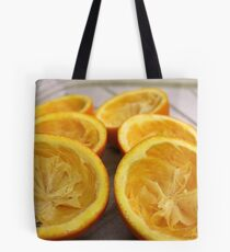 Half oranges Tote Bag