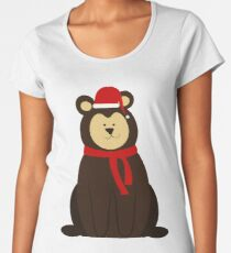ChristmasBear! Women's Premium T-Shirt