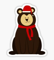 ChristmasBear! Sticker