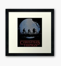Stranger Things - Ugly Christmas Sweater Framed Print
