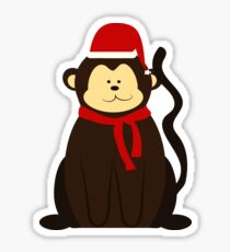 ChristmasMonkey! Sticker