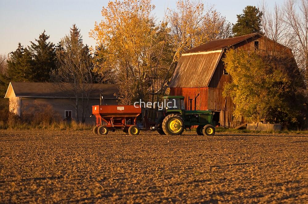 Autumn Barn by cherylc1