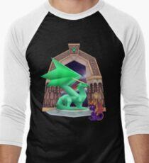 The Adventure Begins... Spyro the Dragon Men's Baseball ¾ T-Shirt
