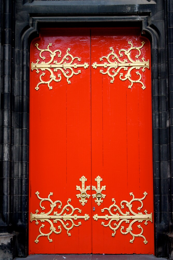 The red door by Shekhar