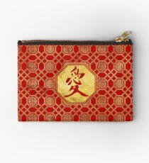 Love Feng Shui Symbol in bagua shape Studio Pouch
