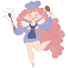 Midnight munchies fairy godmother by VectoryBelle