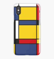 Downtown, Tribute to Mondrian iPhone Case/Skin