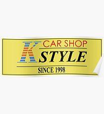 CAR SHOP K-STYLE Poster