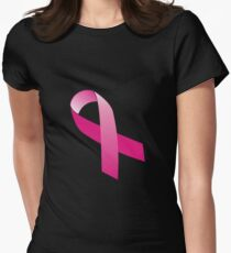 Pink Ribbon Women's Fitted T-Shirt