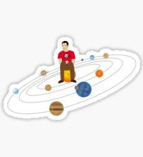 Universe revolves around Sheldon Sticker